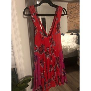 FREE PEOPLE throw on fluttery dress